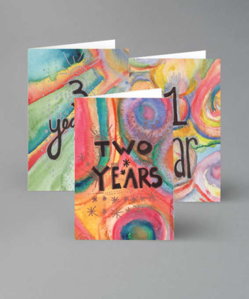 greeting cards for sober years